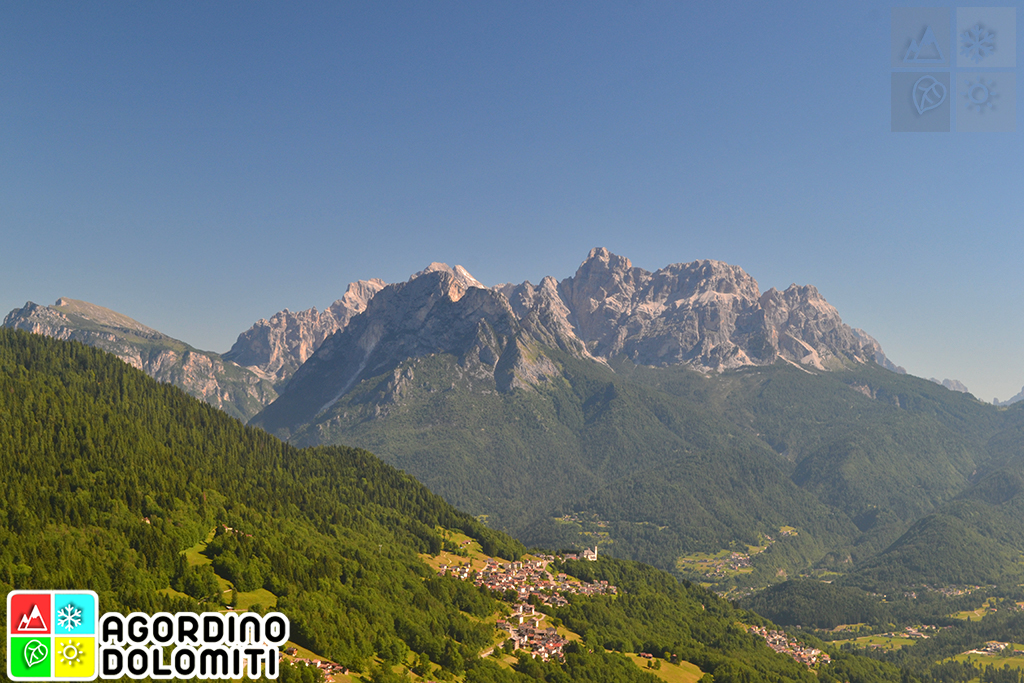 Rivamonte Agordino, Dolomites Alps, Italy