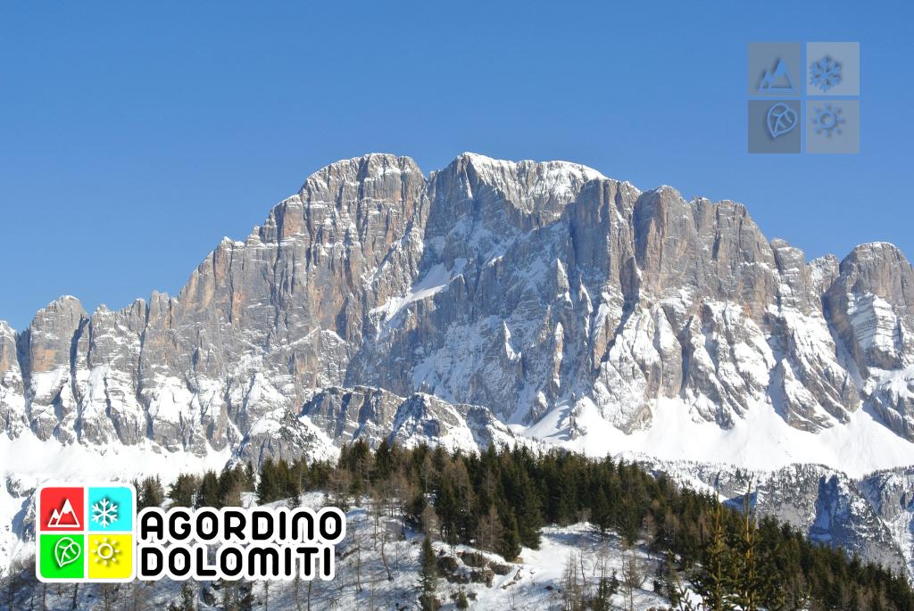 """Parete Nord del Civetta, soprannominata """"Regno del Sesto Grado"""" in ambito alpinistico"""