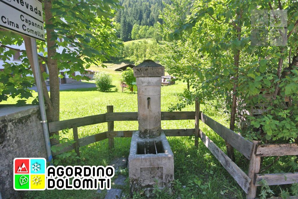Fontane di Canale d'Agordo | Val Biois | Dolomiti UNESCO
