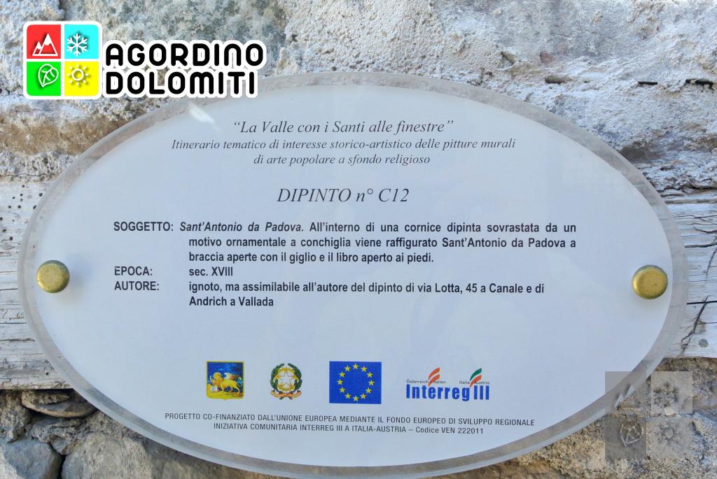 Paese con i Santi Alle Finestre | Canale d'Agordo | Val Biois | Agordino | Dolomiti UNESCO