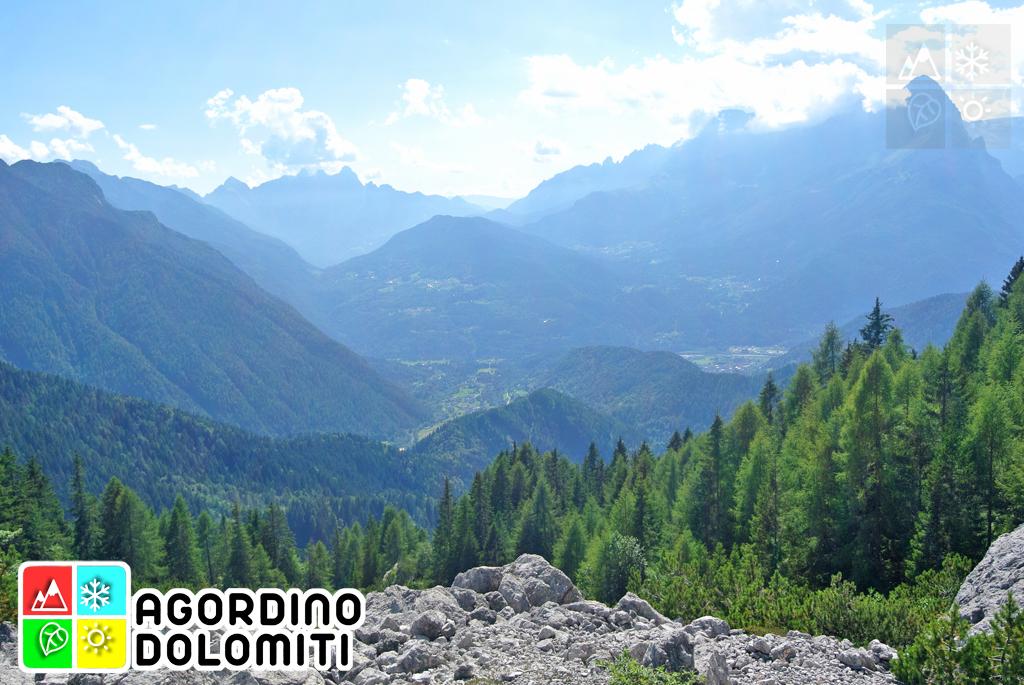 La Conca Agordina dall'Alta Via delle Dolomiti 1