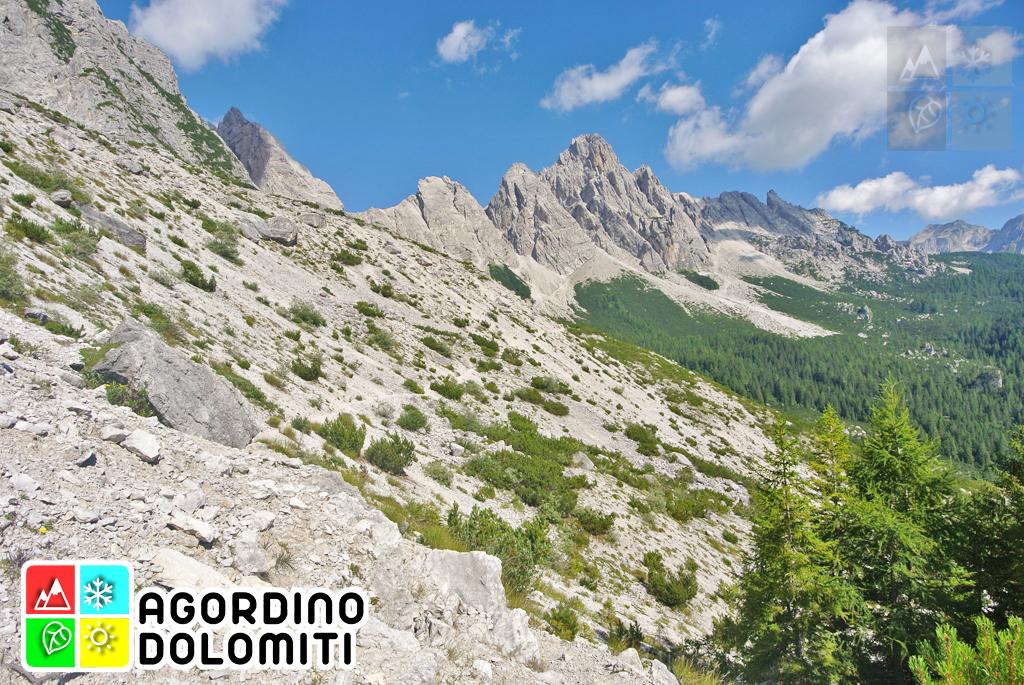 Alta Via 1 delle Dolomiti a La Valle Agordina