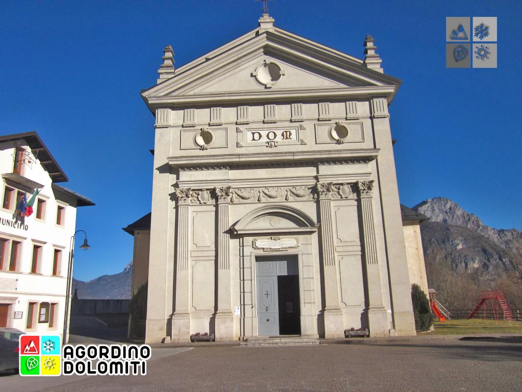 Rivamonte Agordino Dolomite Alps Italy