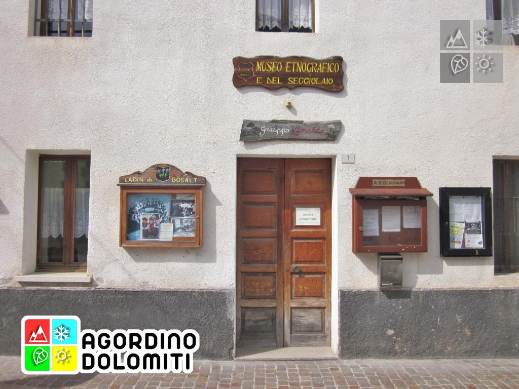 Il Museo Etnografico e del Seggiolaio a Don di Gosaldo
