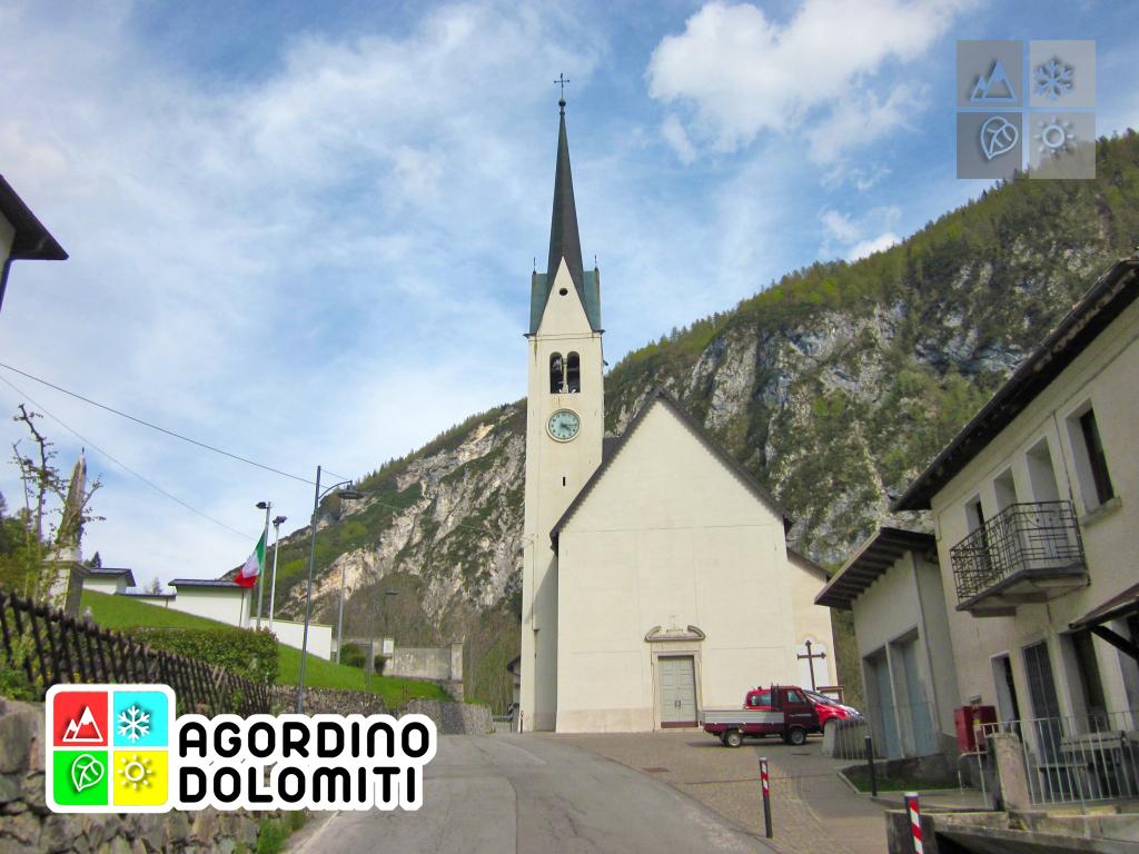 Chiesa a Tiser di Gosaldo