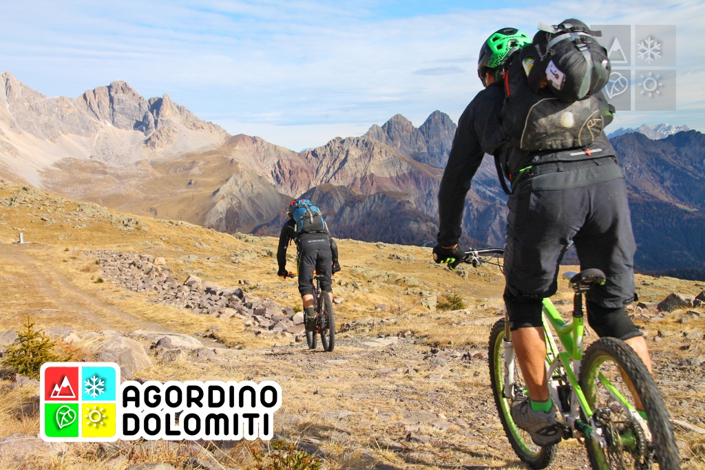 Mountain Bike nelle Pale di San Martino (Agordino Dolomiti)