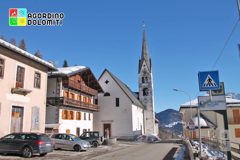 Chiesa di San Sebastiano a Falcade Alto - Dolomiti