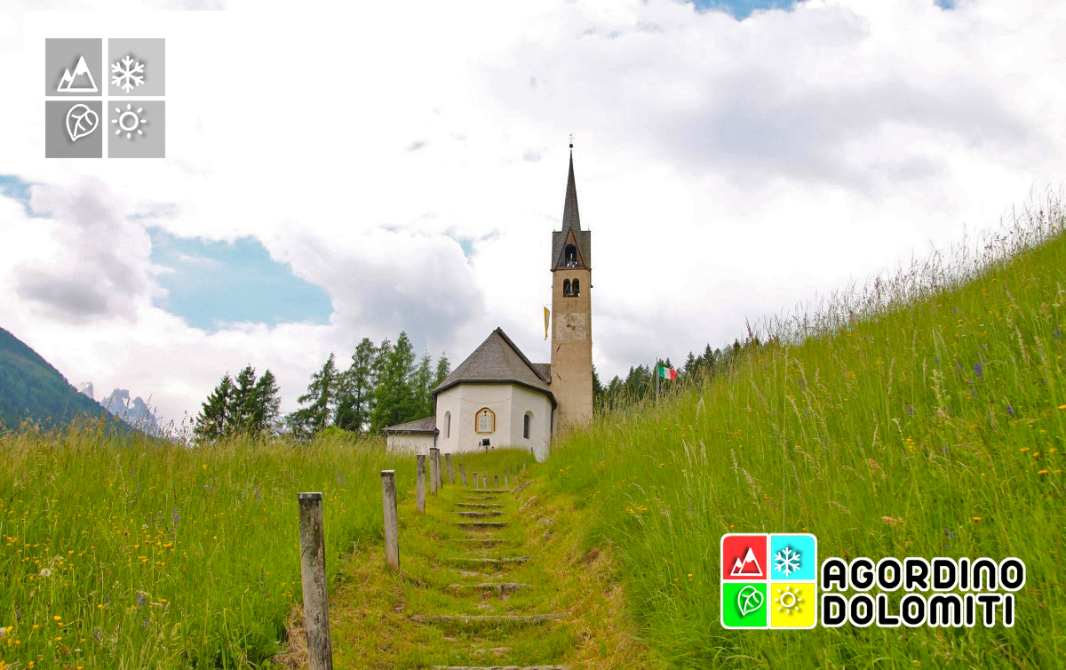 Chiesa della Beata Vergine della Salute a Caviola (Falcade) - Dolomiti