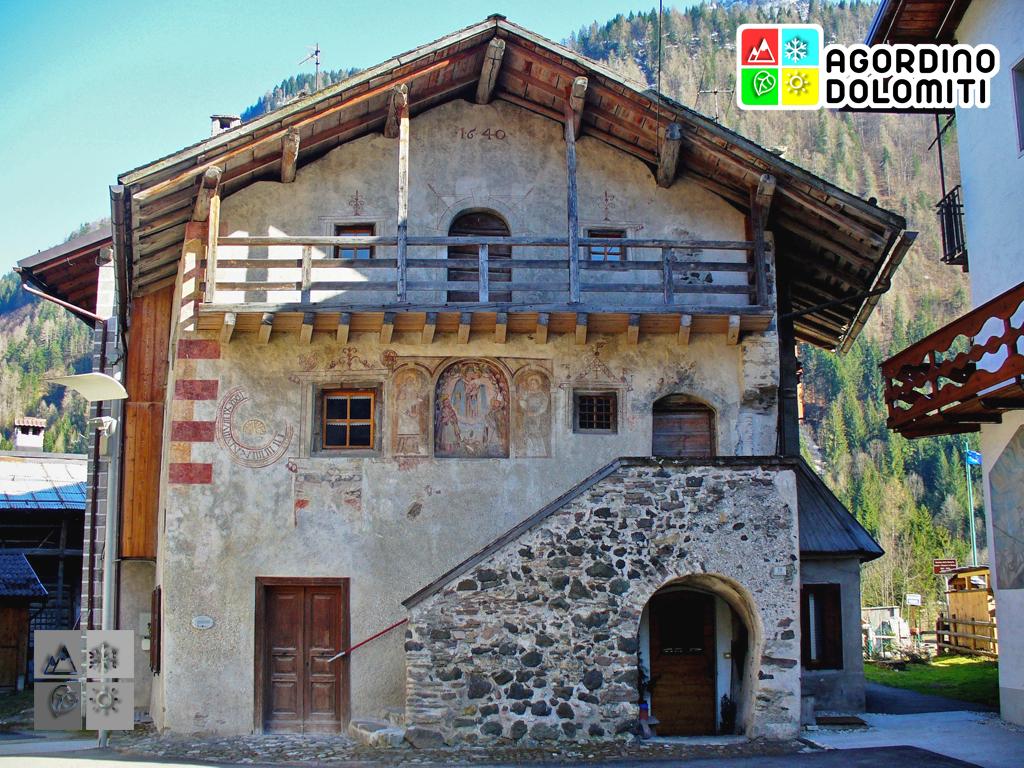 Casa delle Regole Canale d'Agordo Dolomiti