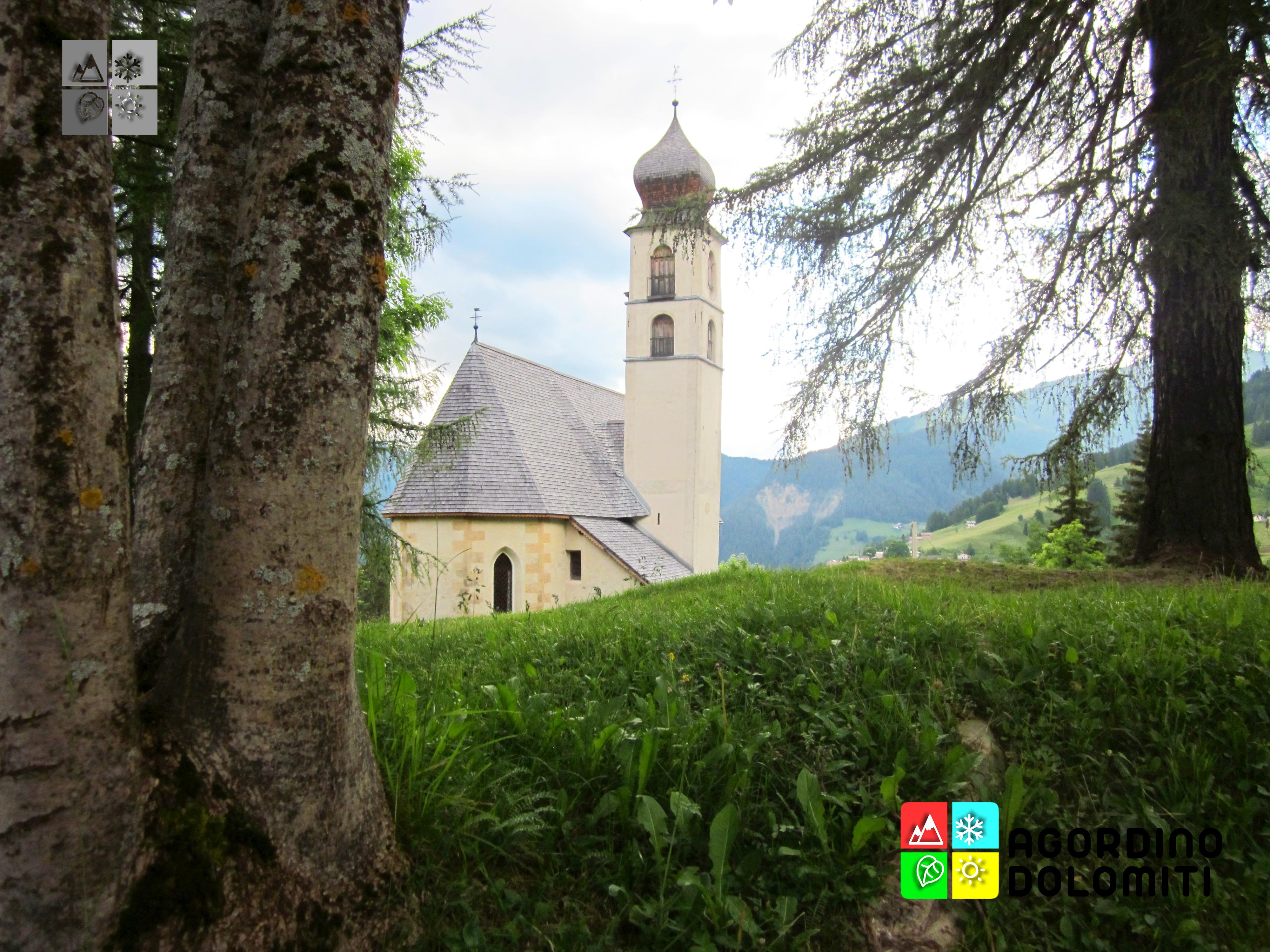 Chiesa di Santa Fosca a Selva di Cadore, Val Fiorentina, Dolomiti