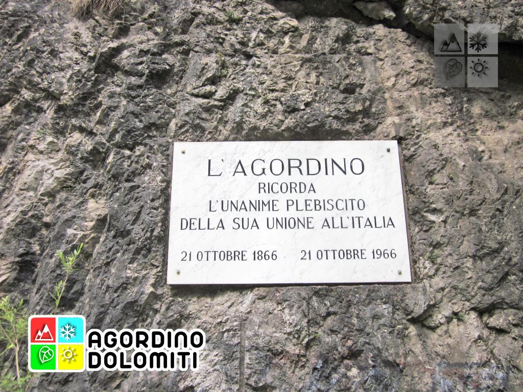 Tagliata di San Martino SR 203 Agordina Dolomiti
