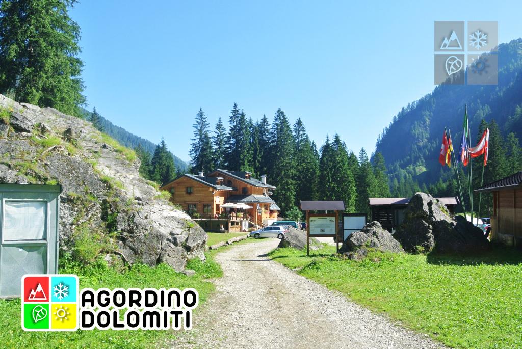 Rifugio Capanna Cima Comelle | Valle di Gares | Dolomiti UNESCO