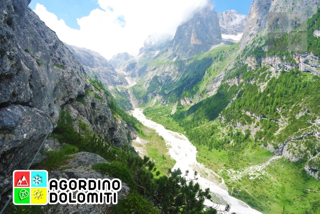 Viaz del Bus | Comelle, Val di Gares | Canale d'Agordo | Dolomiti UNESCO