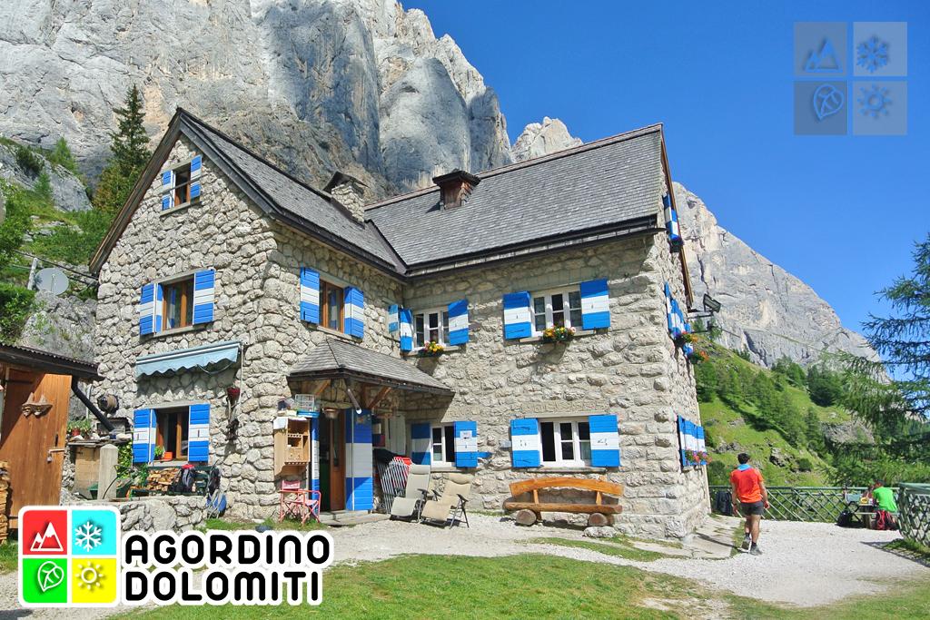 Rifugio Falier | Valle Ombretta | Marmolada | Agordino Dolomiti