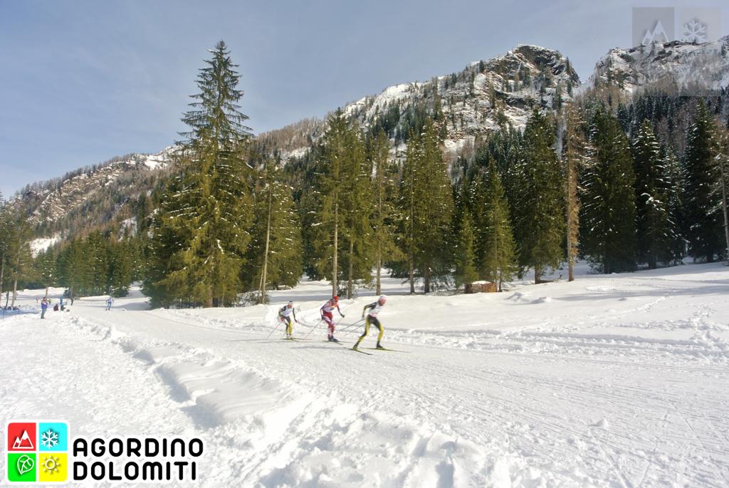 """Franco Manfroi"" Langlaufzentrum im Valle di Gares (Canale d'Agordo) Dolomiten"