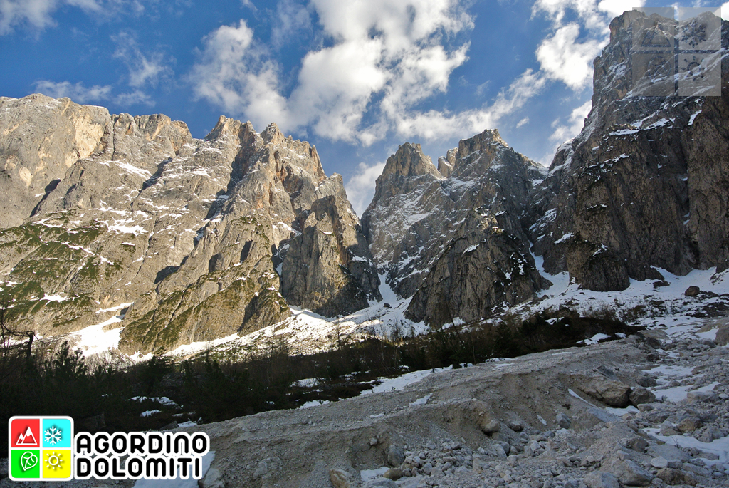Valle di San Lucano Pale di San Martino
