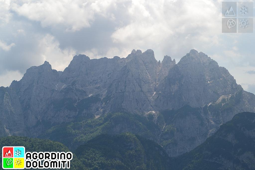 Monti del Sole nelle Dolomiti Bellunesi