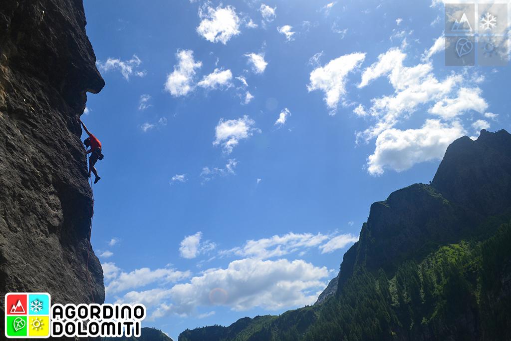Arrampicare in Agordino, Cuore delle Dolomiti