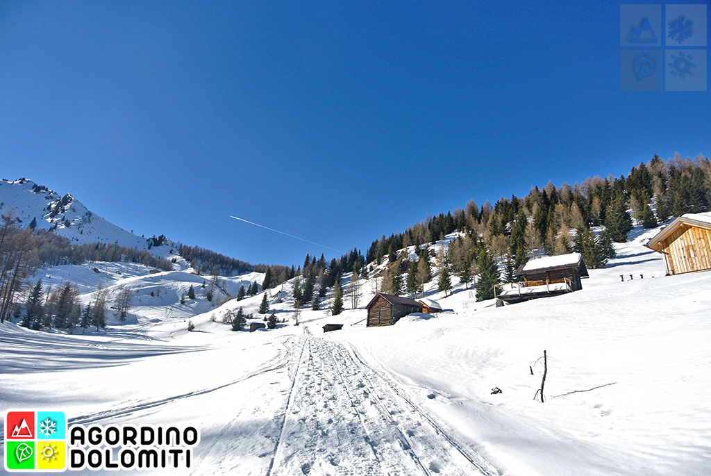 Ciaspole nelle Dolomiti