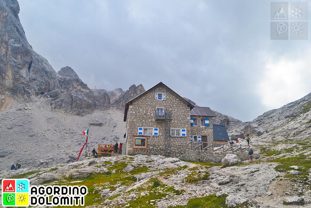 Rifugio Mulaz Pale di San Martino