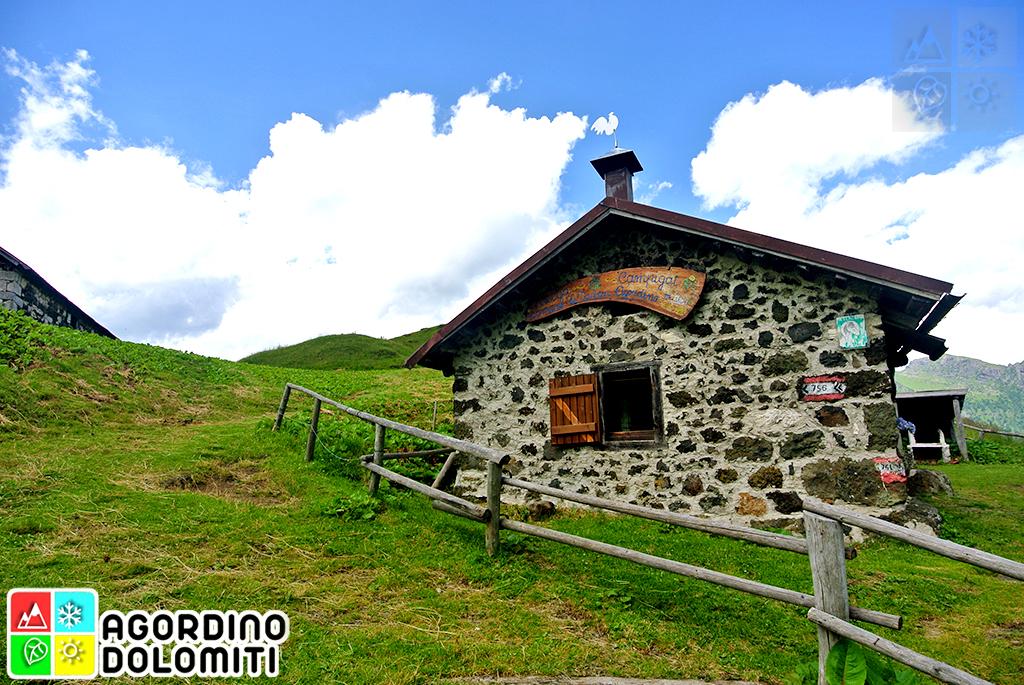 Bivacchi, Casere e Malghe in Agordino