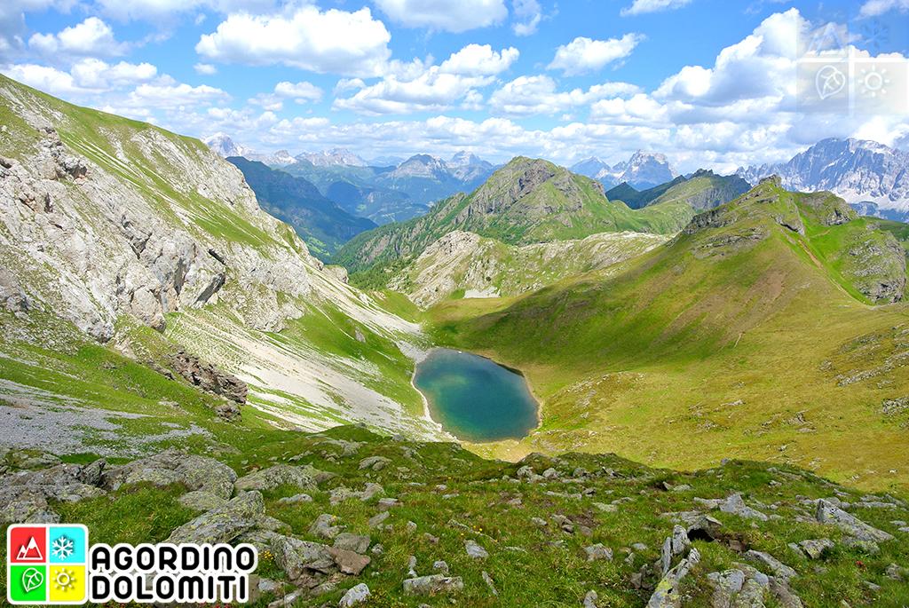 Lach dei Negher Lech dei Giai Agordino Dolomiti