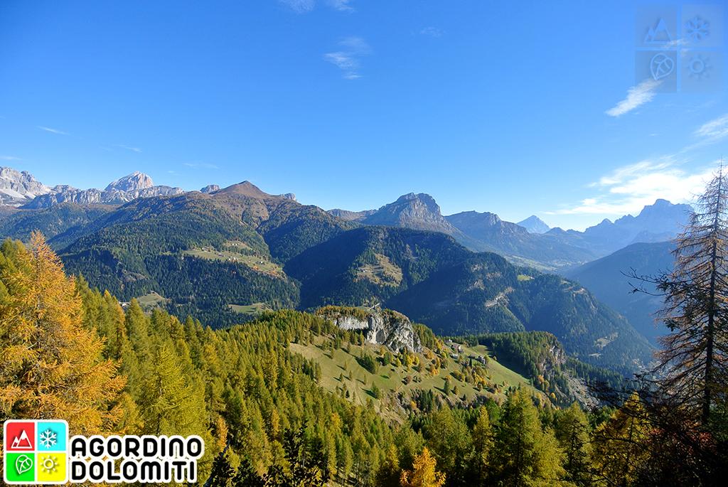 Val Pettorina Rocca Pietore Dolomiti