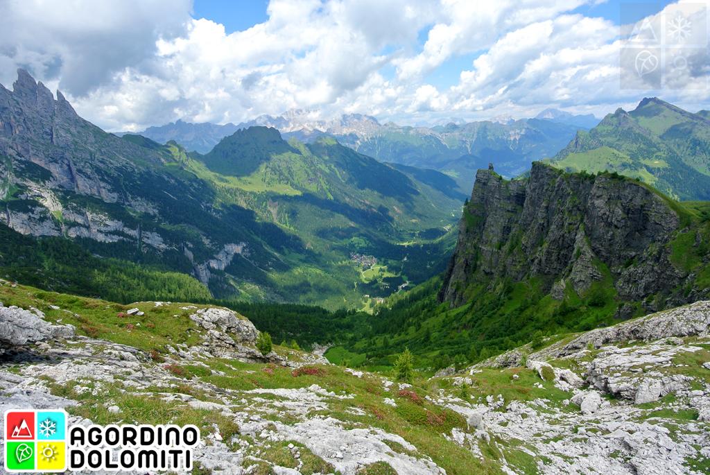 Canale d'Agordo e Valle di Gares, Dolomiti
