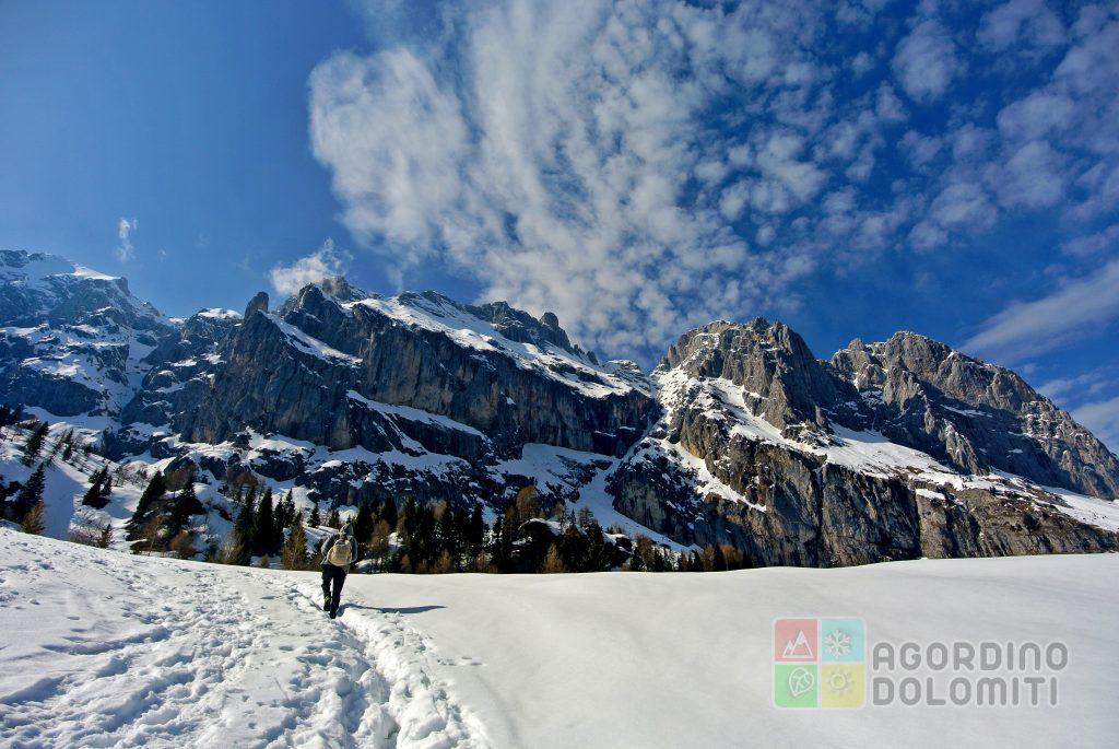 Ciaspolare nel Cuore delle Dolomiti