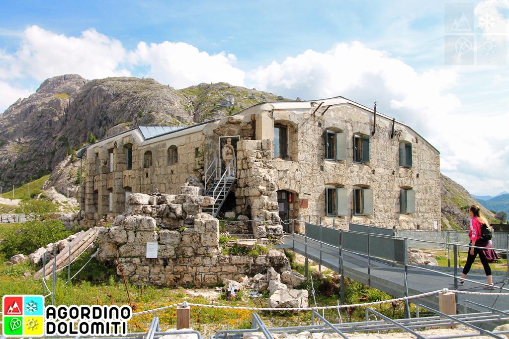 Museo della Grande Guerra al Forte Tre Sassi Passo Valparola