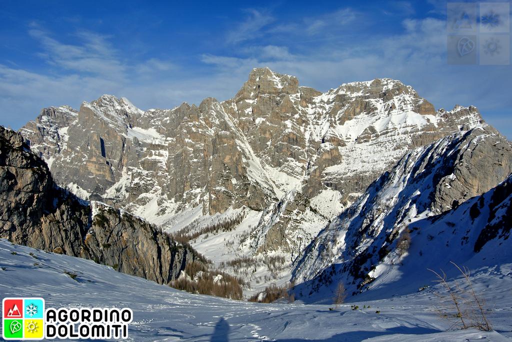 Ciaspolare nelle Dolomiti