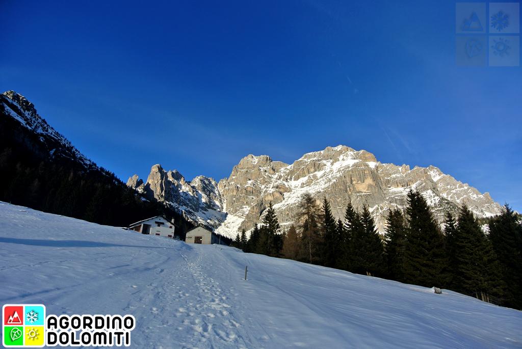 Conca Agordina nelle Dolomiti