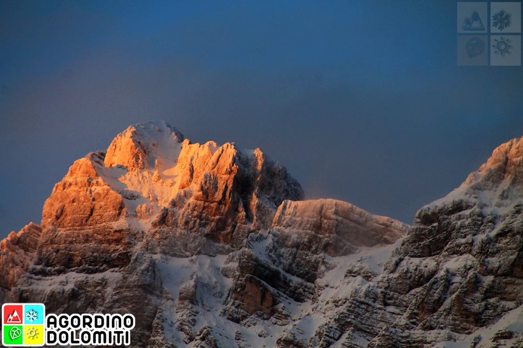 Agordo Dolomites Alps Italy