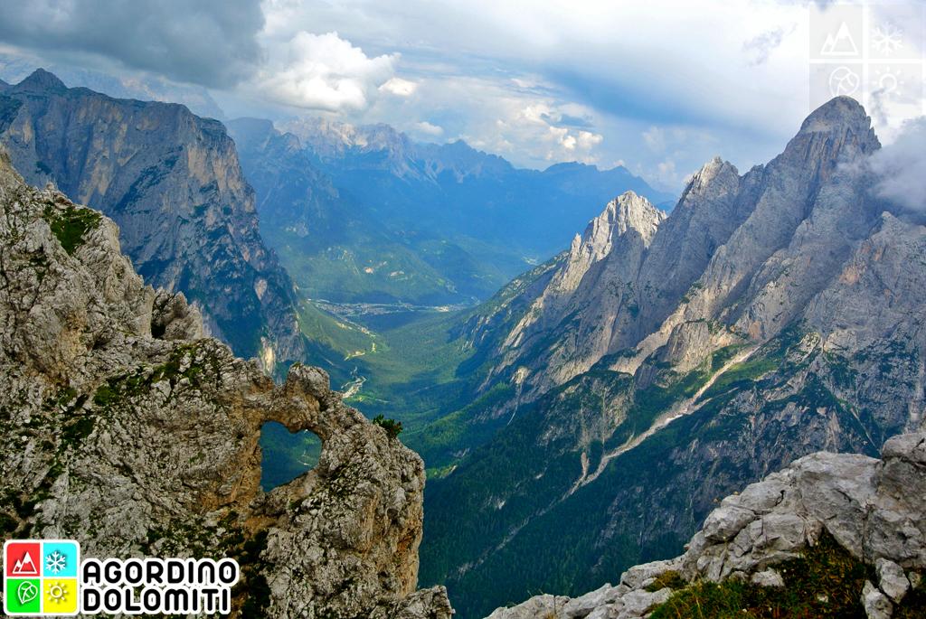 Cosa vedere in Agordino, Cuore delle Dolomiti