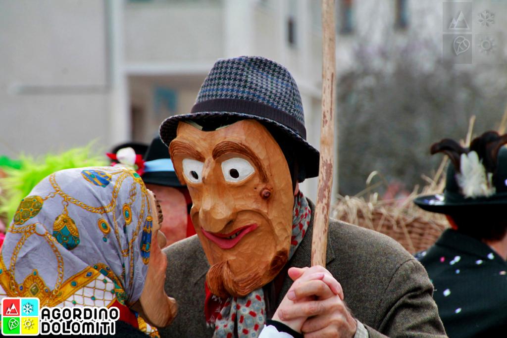 Olt da Riva Carnevale di Rivamonte Agordino Dolomiti