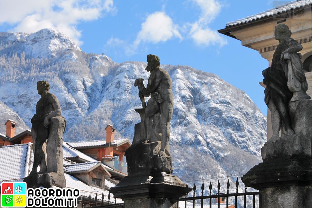 Agordo Dolomite Alps Italy