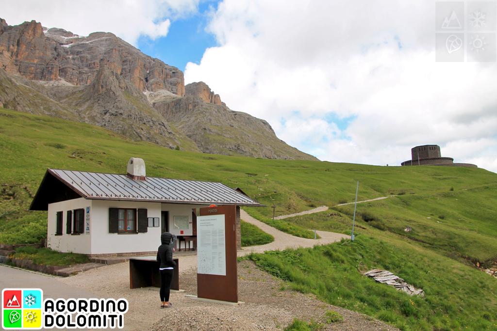 Sacrario Passo Pordoi Dolomiti