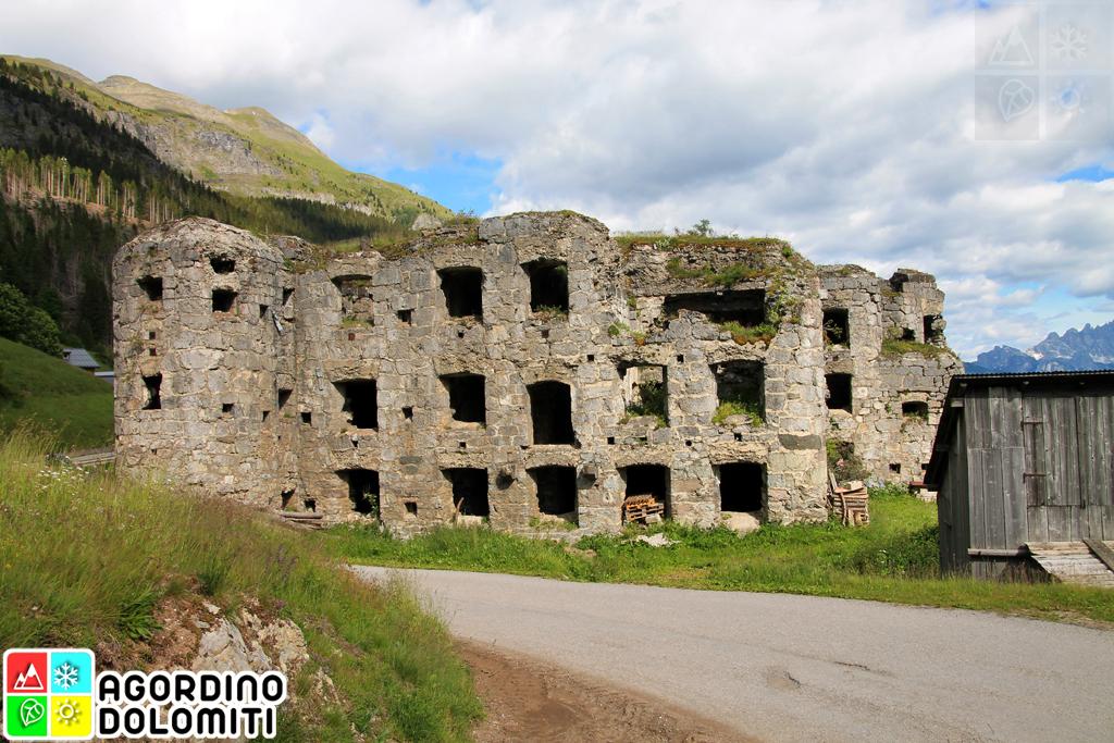 Forte La Corte Livinallongo del Col di Lana Dolomiti