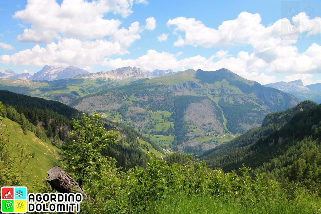 Escursione ad Anello della Val d'Ornella | Ornella - Passo Padon - Ornella | Livinallongo del Col di Lana | Agordino Dolomiti
