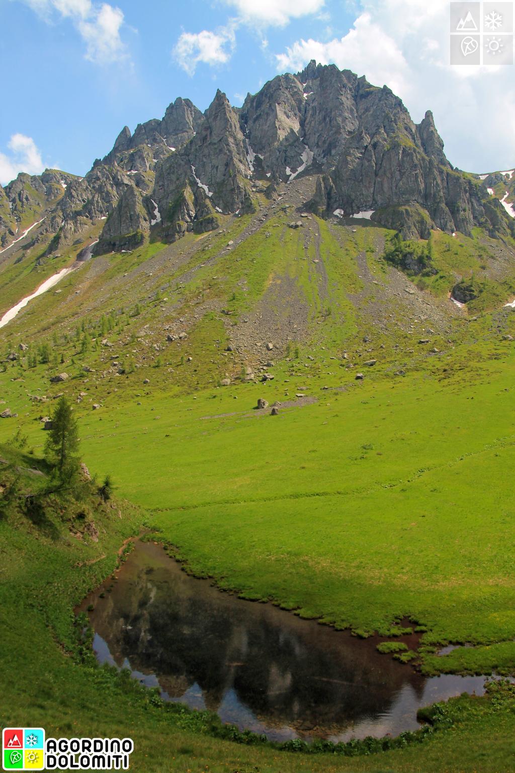 Padon Range (Marmolada) Dolomites