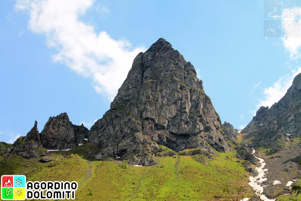 Padon Mountain Range Dolomites