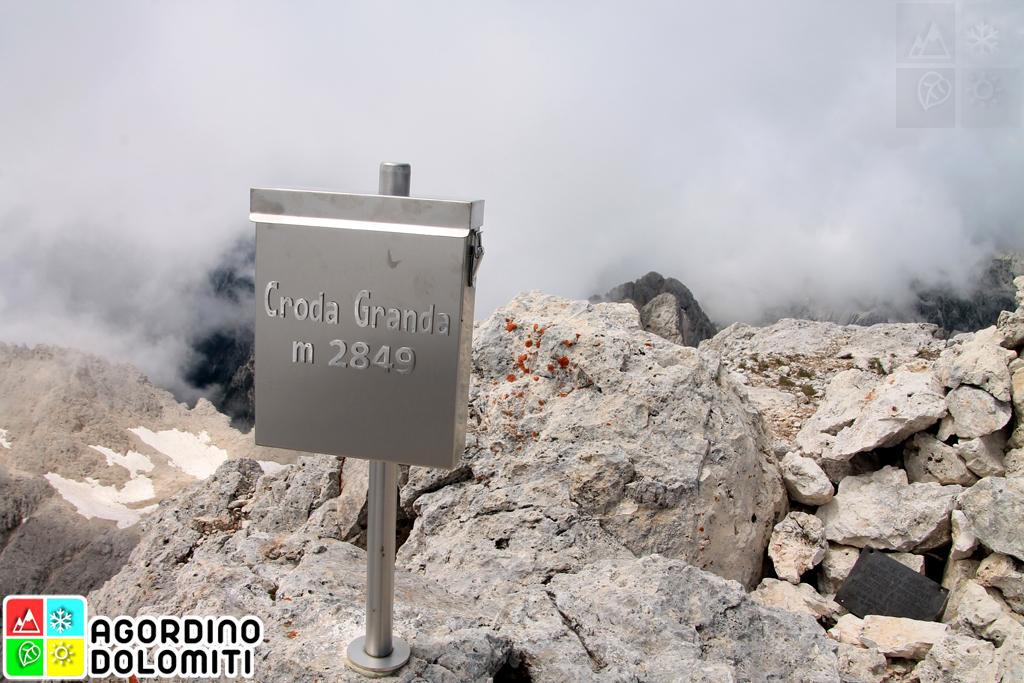 Croda Granda nelle Dolomiti