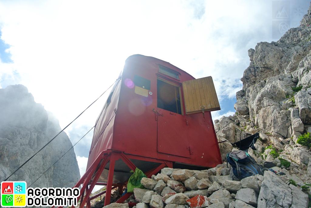 Bivacco Biasin | Monte Agner | Pale di San Martino | Agordino Dolomiti