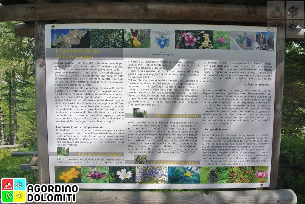 Giardino Botanico Segni Dolomiti