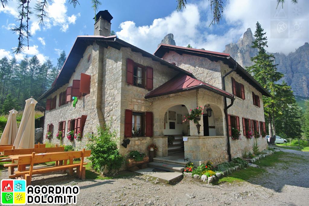 Rifugio Vazzoler Civetta Dolomiti