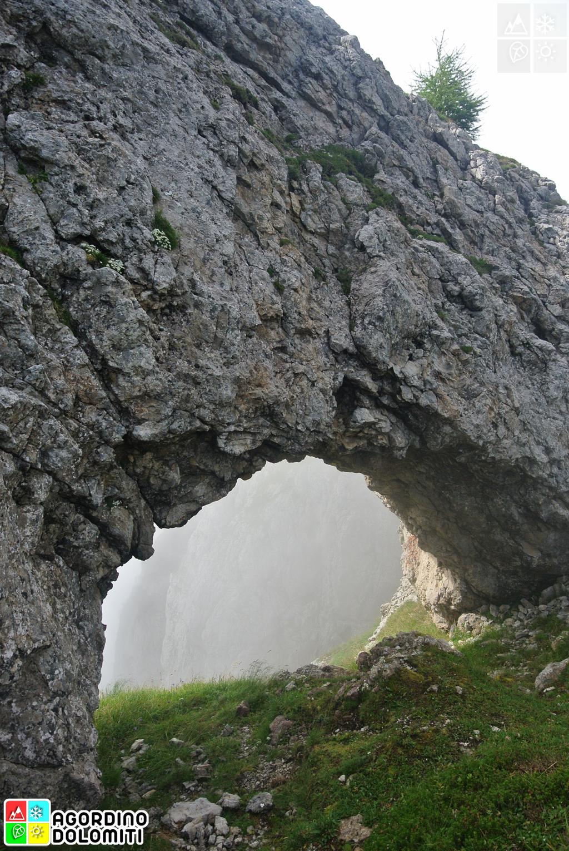 Arco del Bersanel, Pale di San Lucano, Pale di San Martino, Dolomiti