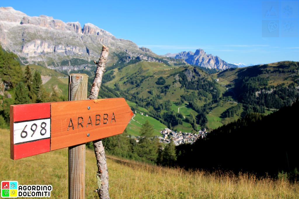 Arabba nelle Dolomiti UNESCO