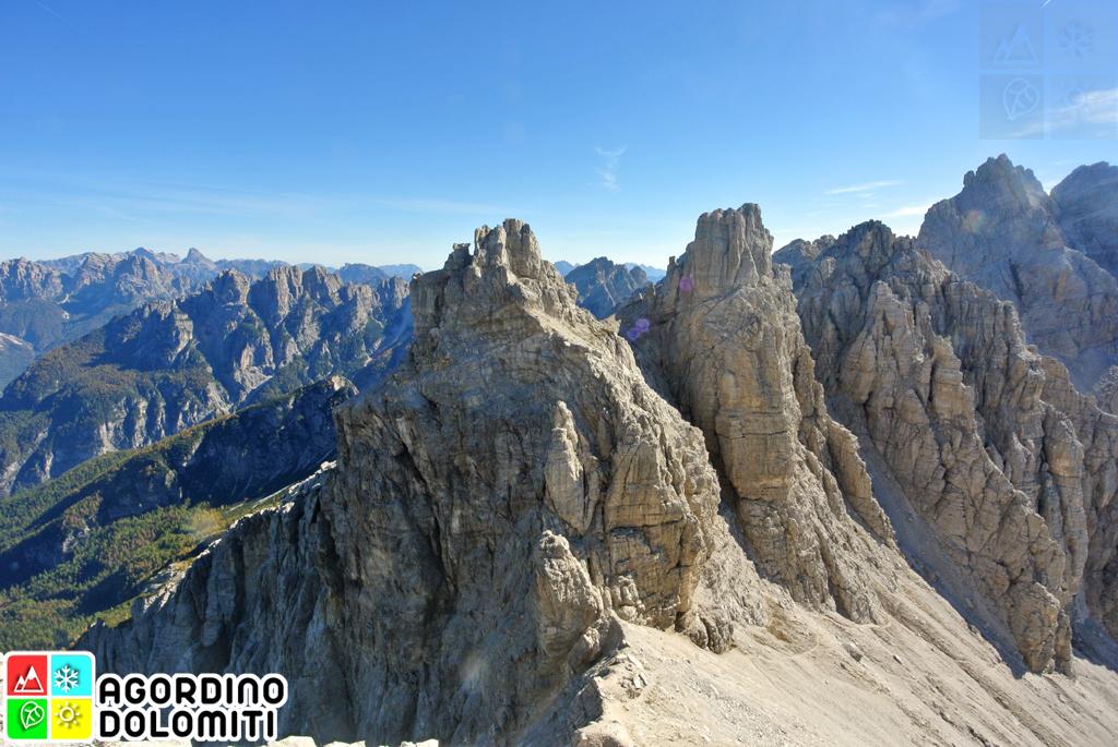 Cima Nord di San Sebastiano Dolomiti
