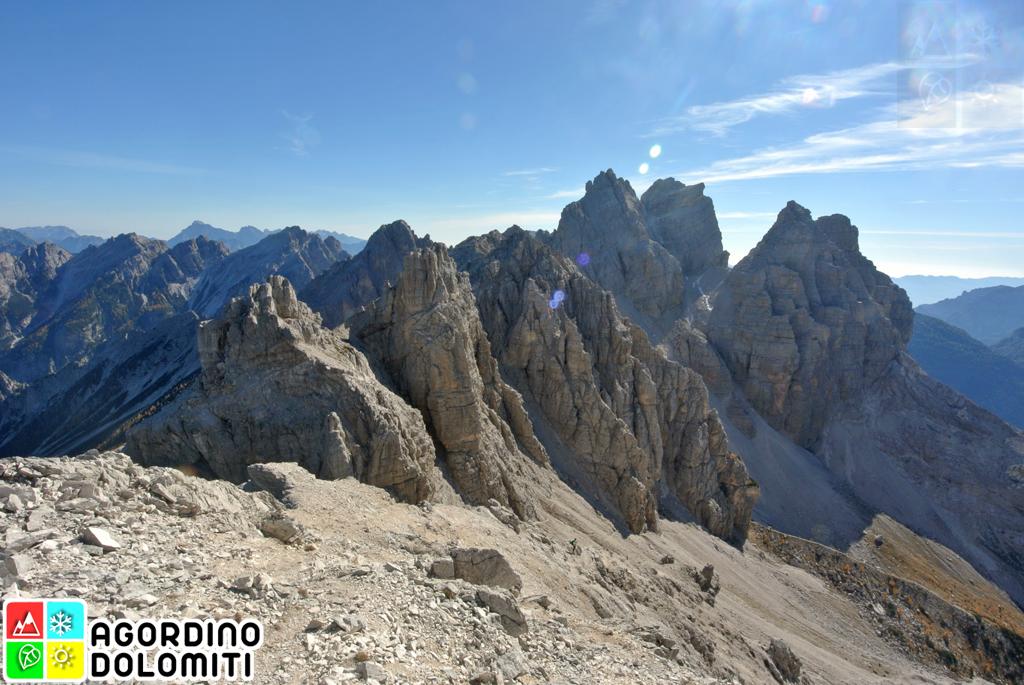 Cima Nord di San Sebastiano Agordino Dolomiti UNESCO