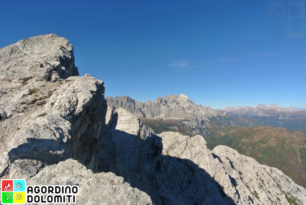 Cima San Sebastiano Agordino Dolomiti